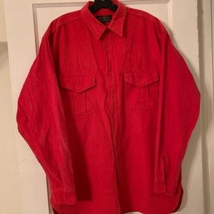 Vintage Eddie Bauer Heavyweight Flannel Sz XL